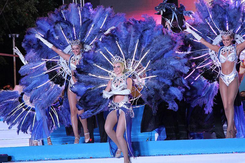 Карнавал в Геленджике каждый год, время проведения, программа