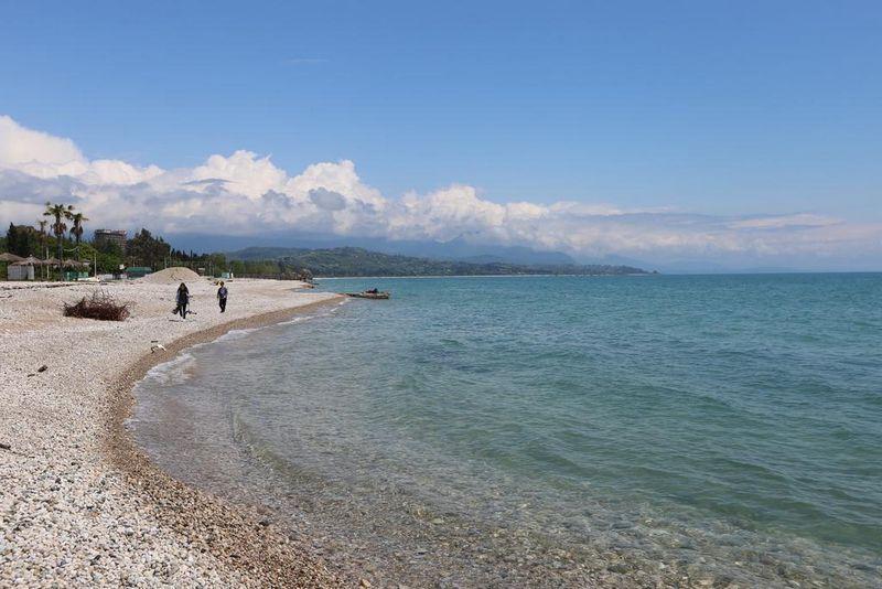 Пляжи Гудауты