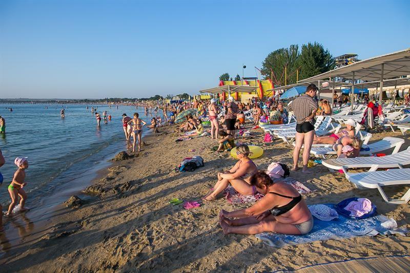 Лечебный пляж в центре Анапы - не только приятно но еще и полезно, фотографии, отзывы, как проехать