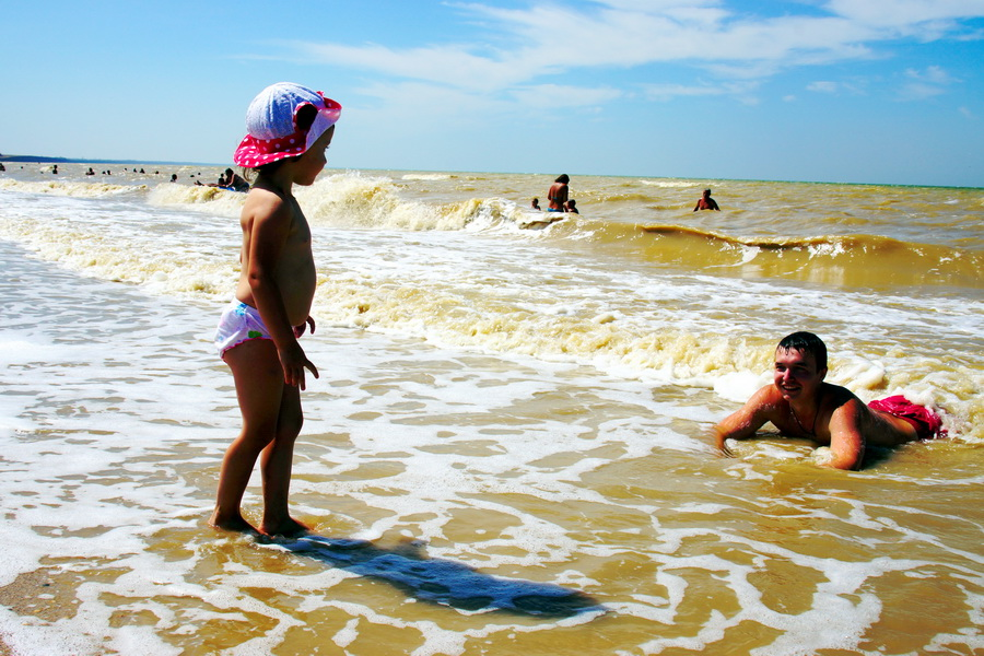 Отдых на побережье Азовского моря с детьми