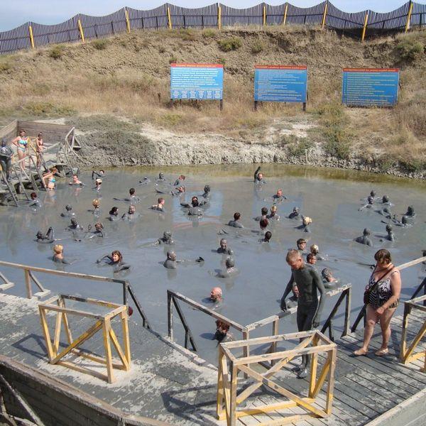 Грязевой вулкан «Тиздар» в поселке Кучугуры описание, отзывы, телефон, адрес, как проехать.