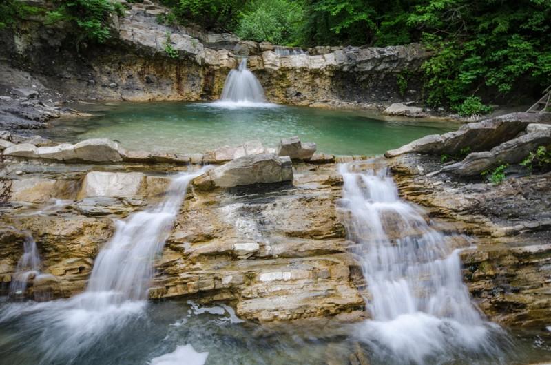 Водопады реки Жане, описание, как проехать, интересные факты, отзывы туристов, фотографии, расположение.
