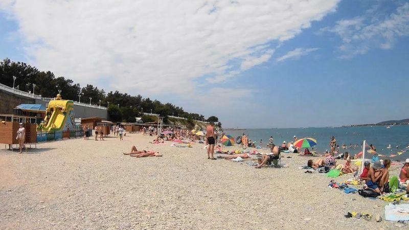 Пляж детского лагеря Нива в Геленджике на лето 2021 года, отзывы, фотографии, как проехать.