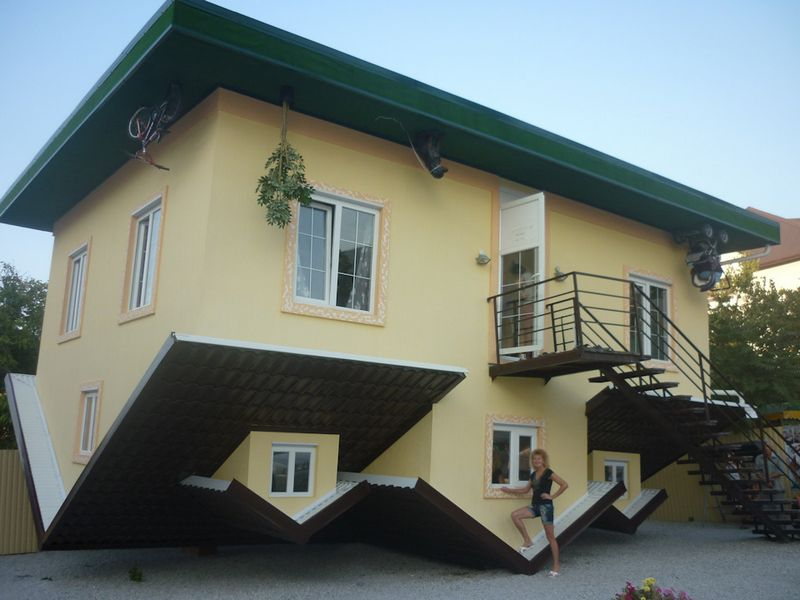 Дом вверх дном в Кабардинке описание отзывы фото режим работы адрес как проехать телефон.