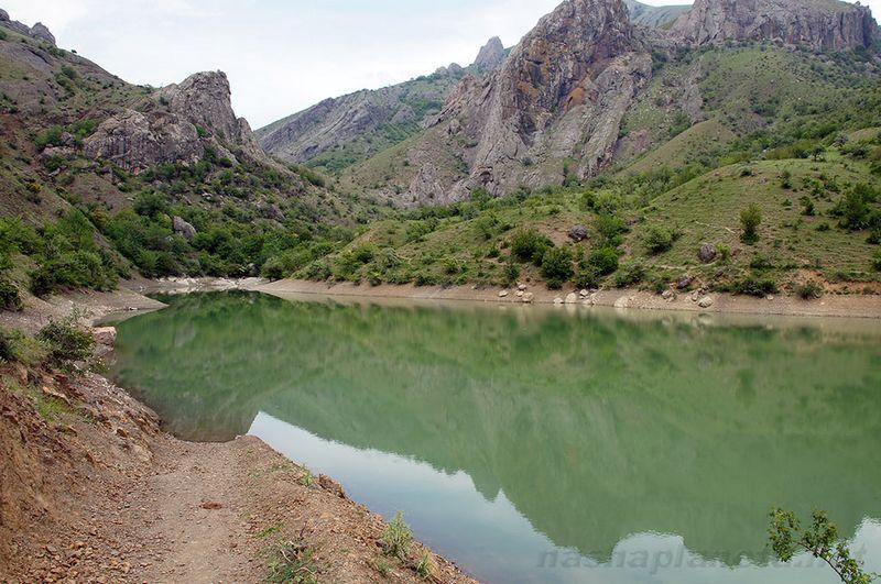 Панагия – горное озеро в районе Алушты, описание, фотографии, маршрут, как проехать, отзывы туристов.