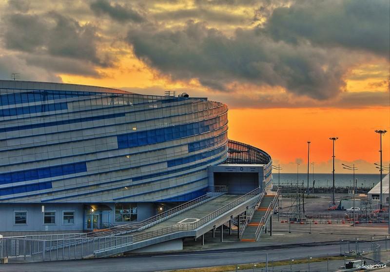 Хоккейный стадион «Шайба» на территории Олимпийского парка в Адлере, описание, как проехать, телефон, адрес, отзывы посетителей.