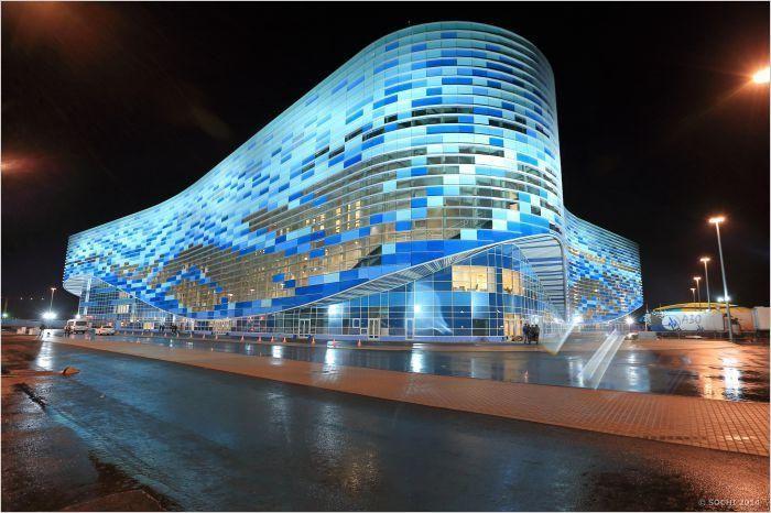 Ледовая арена «Айсберг» в Адлере – одна из самых интересных ледовых арен на территории России, описание, фотографии, телефон.