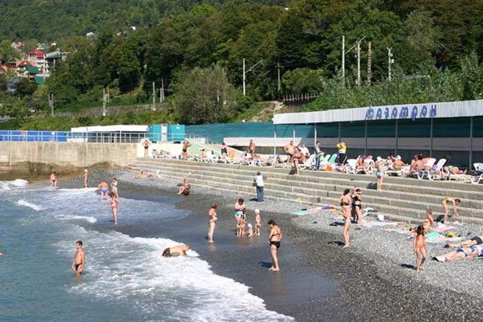 Описание пляжа санатория Фазотрон на лето 2021 с отзывами и вариантами маршрута