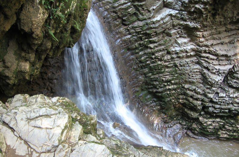 """Водопад """"Райское наслаждение"""" Лоо."""