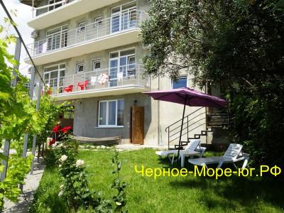 Крым гостевой дом «Бригантина» в  Мисхоре, ул. Южная, 72