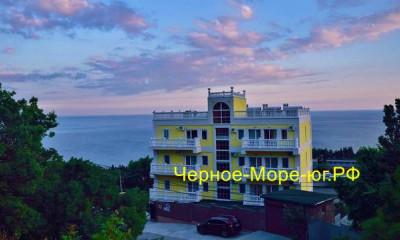Отель «Вилла АкваВита». Алупка, ул. Южнобережный спуск, 3 «Г»