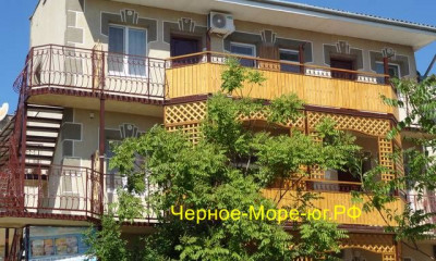 Гостевой дом «Золотая рыбка» г. Саки ул. Морская 4, сектор 6, д. 12 (б/о «Прибой»)