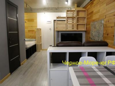 Квартира 39 кв.м, двухкомнатная, Сочи, р-н Мамайка, пер. Теневой, 3 «Г»
