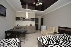 13 Гостевой дом «Николь» г. Анапа п. Витязево ул. Восточная д. 22 ( Однокомнатные апартаменты с кухней и балконом )