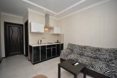 14 Гостевой дом «Николь» г. Анапа п. Витязево ул. Восточная д. 22 ( Двухкомнатные апартаменты с кухней и 2-мя балконами )