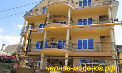 Гостевой дом «Эдельвейс» по ул. Чкалова, 6в в Адлере