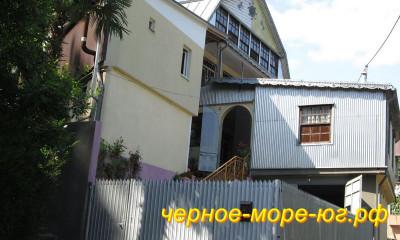 Частный сектор по ул. Самшитовая, 5/2 в Хосте