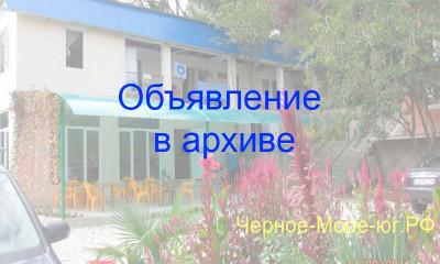 Гостиница «Морская» в Шепси по ул. Лесная, 14