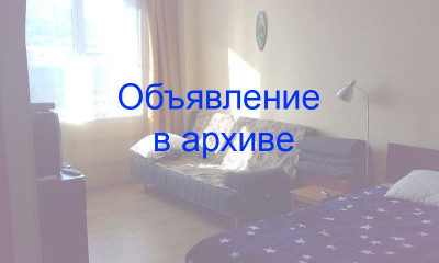 Однокомнатная квартира в Ольгинке, мкр. Горизонт, 60