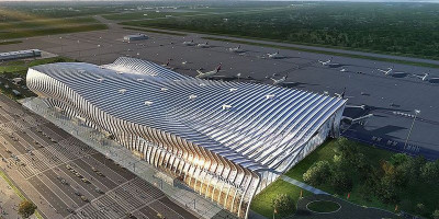 Подробное описание нового терминала аэропорта Симферополя – адрес, телефон, как проехать, фотографии.