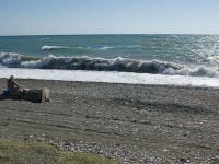 Пляж в поселке Агудзера Абхазия - как проехать, фотографии, отзывы туристов