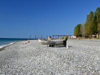 Центральный пляж Цандрипш - 2021, инфраструктура, фотографии, отзывы туристов