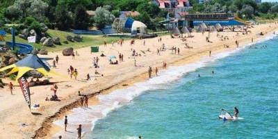 Центральный пляж города Щелкино на лето 2021 года, фотографии, отзывы туристов