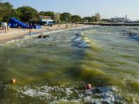 Центральный пляж города Ейска