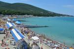 Центральный пляж поселка Кабардинка – как проехать, фотографии, подробное описание, отзывы туристов, адрес.