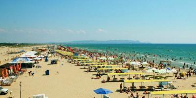 Центральный пляж в поселке Витязево обзор с подробным описанием адресом как проехать.