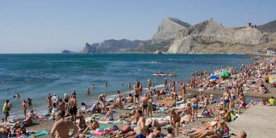 Центральный пляж в городе Судак - описание, отзывы, фотографии, адрес