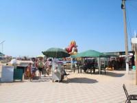 Главный муниципальный пляж станицы Голубицкая - Морской бриз, как проехать, режим работы, инфраструктура, фотограф��и