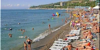 Центральный пляж в поселке Гурзуф - лето 2020, как проехать, режим работы, свежие отзывы, фотографии