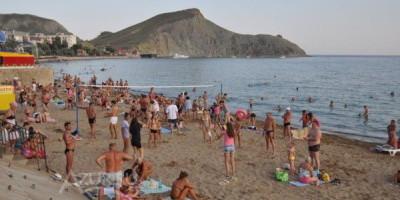 Главный муниципальный пляж в поселке Орджоникидзе – месторасположение, режим работы, фотографии, жилье рядом.
