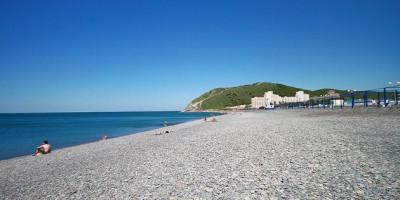 Описание центрального пляжа п. Сукко - лето 2020 года, отзывы, фотографии, как проехать.