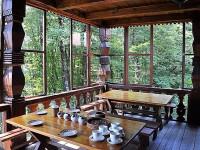 Чайные домики в Уч-Дере романтический отдых в районе Сочи