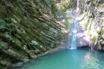 Одни из самых красивых водопадов Сочи – Чудо-красотка: описание, адрес, как проехать, маршрут, фотографии.