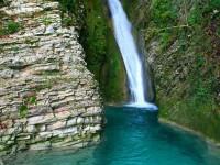 Одни из самых красивых водопадов Сочи – Чудо-красотка