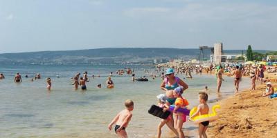 Пляж детского санатория Айвазовский в Феодосии - месторасположение, фотографии, отзывы