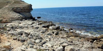 Обзор на дикие пляжи в районе поселка Черноморское Крым - фотографии, отзывы