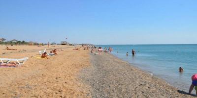 Описание диких пляжей в городе Саки для туриста на лето 2021 - фотографии, отзывы.