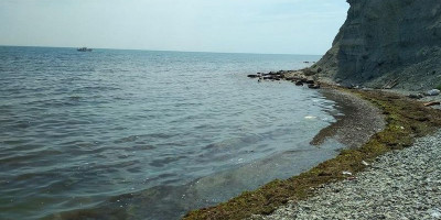 Дикий пляж у мыса Чумка Феодосия - 2021, фотографии, отзывы, советы отдыхающих