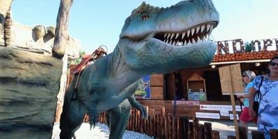 Динопарк под названием «Рекс» в Анапе фотографии, отзывы посетителей, как проехать, адрес, подробное описание.