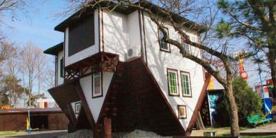 «Дом вверх дном» в Анапе, описание отзывы фото как проехать адрес телефон режим работы цена билета.
