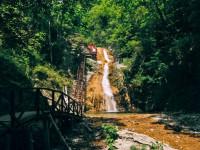Гебиусские водопады в поселке Архипо-Осиповка