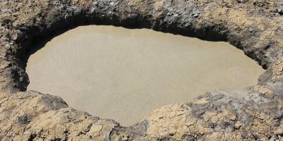 Грязевой вулкан Гефест вблизи гнилой горы города Темрюка – описание, адрес, как проехать, фотографии, отзывы туристов.
