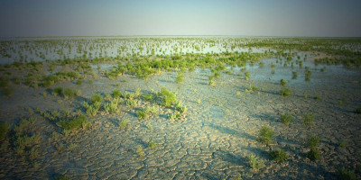 Ханское озеро – водоем с целебными грязями в городе Ейск, описание, как проехать, адрес, фотографии, отзывы туристов.