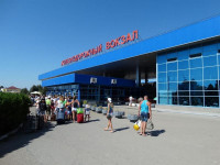 ЖД-вокзал города Анапы