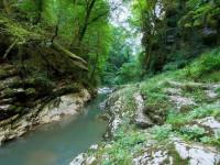 Навалищенский каньон в районе Хосты