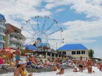 Описание пляжа Лазурный в самом центре поселка Лазаревское на лето 2021 года